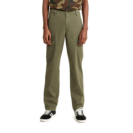Levi's Xx Taper Cargo Mens Regular Fit Cargo Pant, 31 32, Green