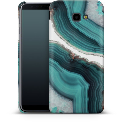 Samsung Galaxy J4 Plus Smartphone Huelle - Sea Agate von Emanuela Carratoni