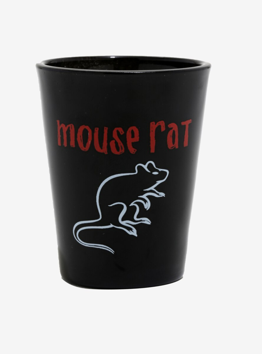 Parks and Recreation Mouse Rat Mini Glass - BoxLunch Exclusive