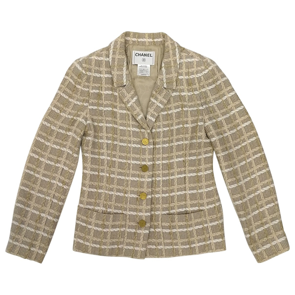Traje  Tweed Chanel