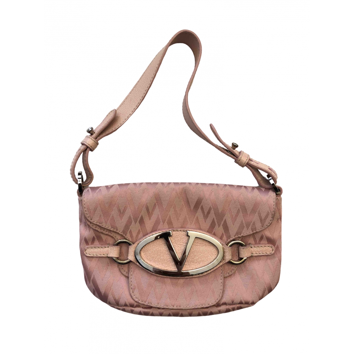 Valentino Garavani \N Pink Cotton handbag for Women \N