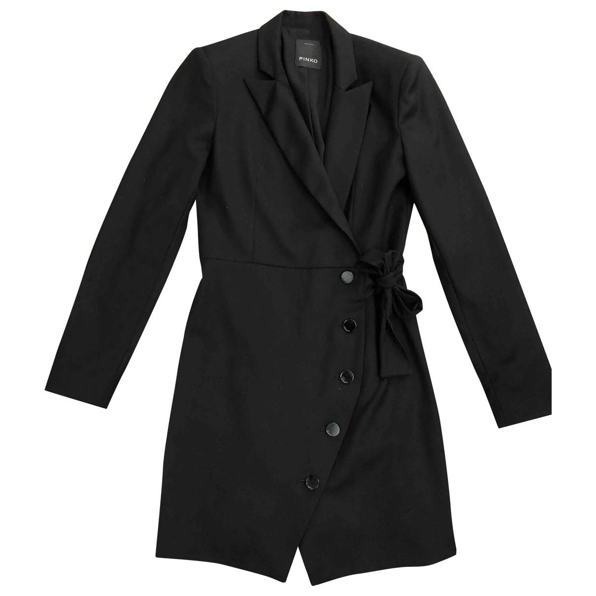 Pinko \N Black Cotton dress for Women 40 IT