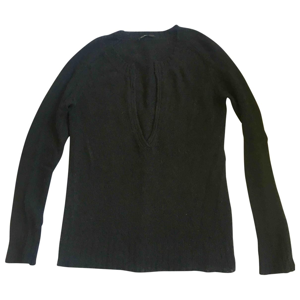 Balmain \N Black Wool Knitwear for Women 42 FR