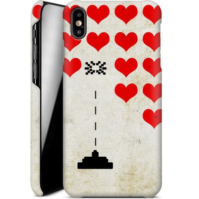 Apple iPhone XS Max Smartphone Huelle - Heart Attack von Claus-Peter Schops