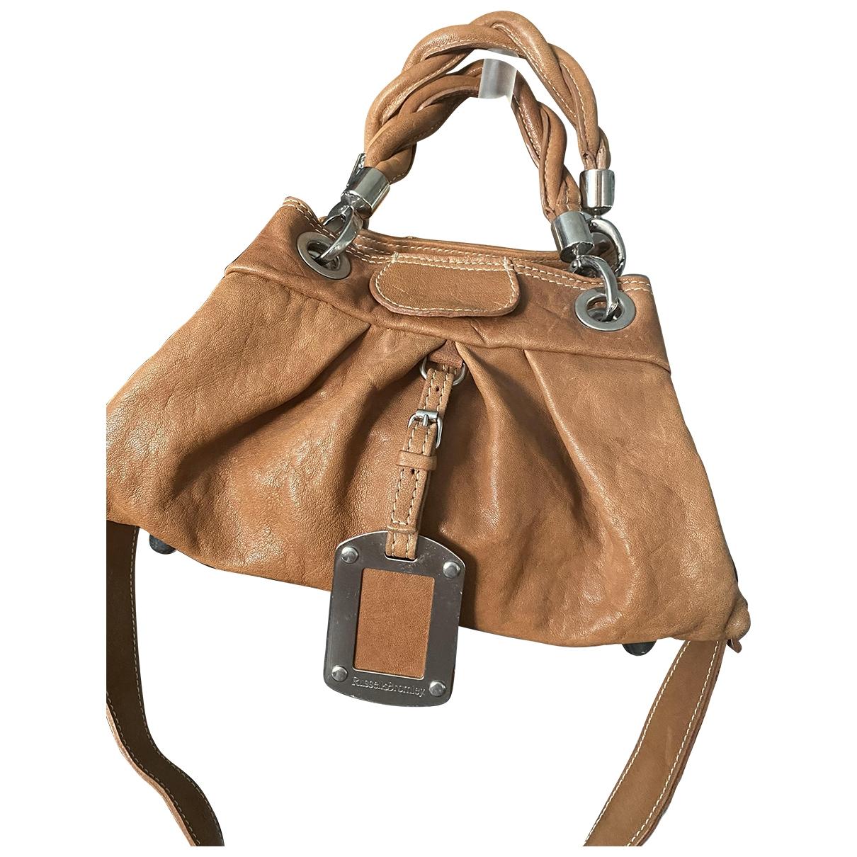 Russell & Bromley \N Handtasche in  Kamel Leder