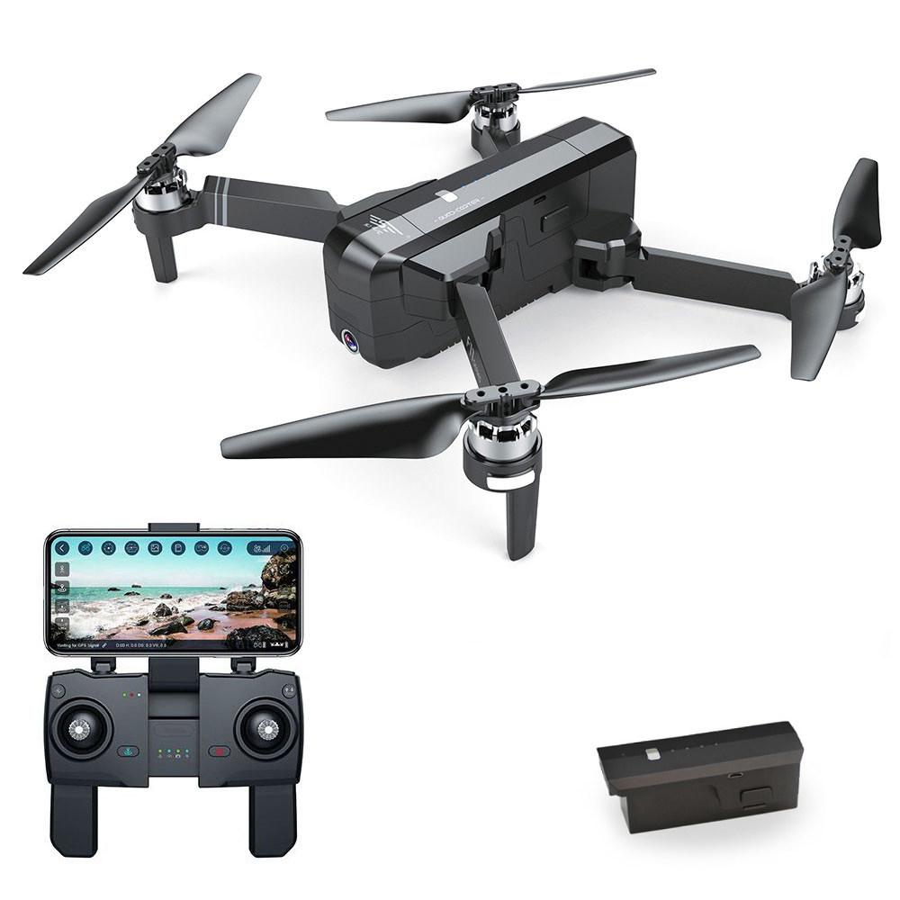 SJRC F11 1080P GPS 5G WiFi FPV Foldable Brushless RC Drone 25min Flight Time RTF Black -Two Batteries