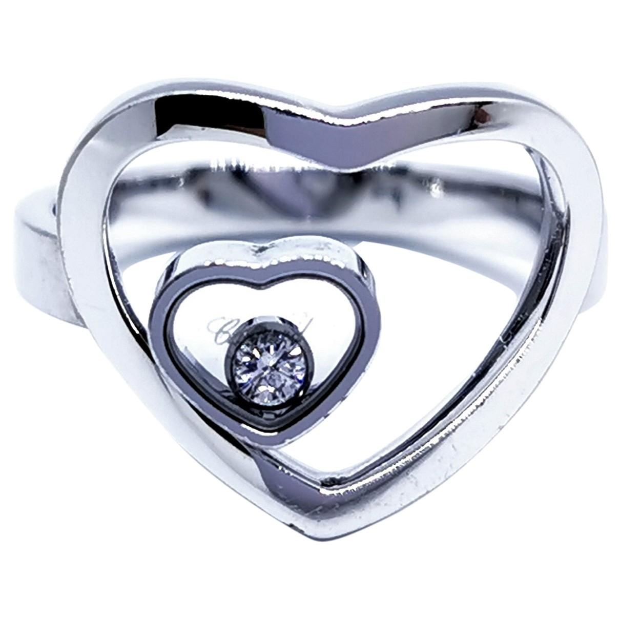 Chopard Happy Diamonds Ring in  Silber Weissgold