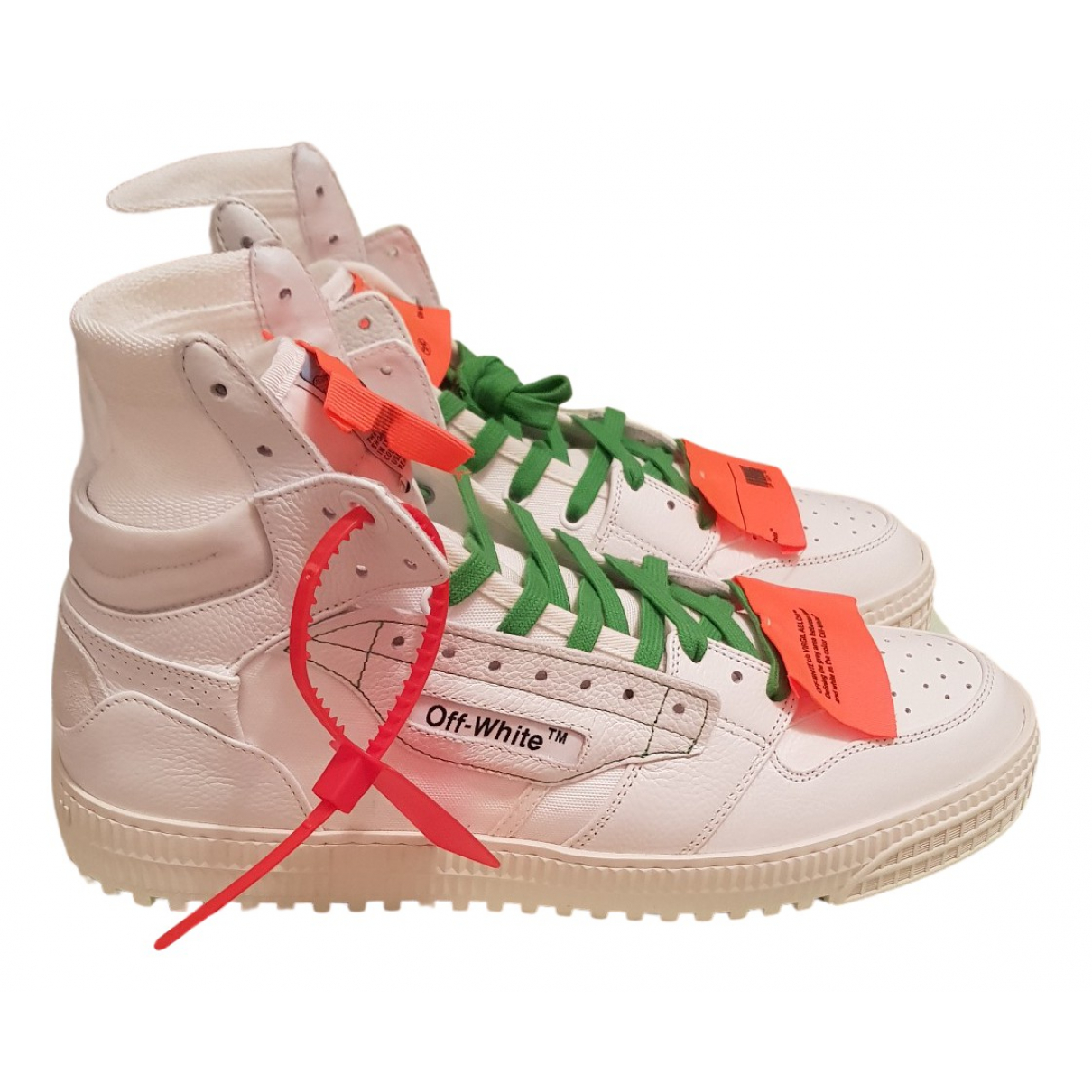 Off-white Off-Court White Cloth Trainers for Men 44 IT