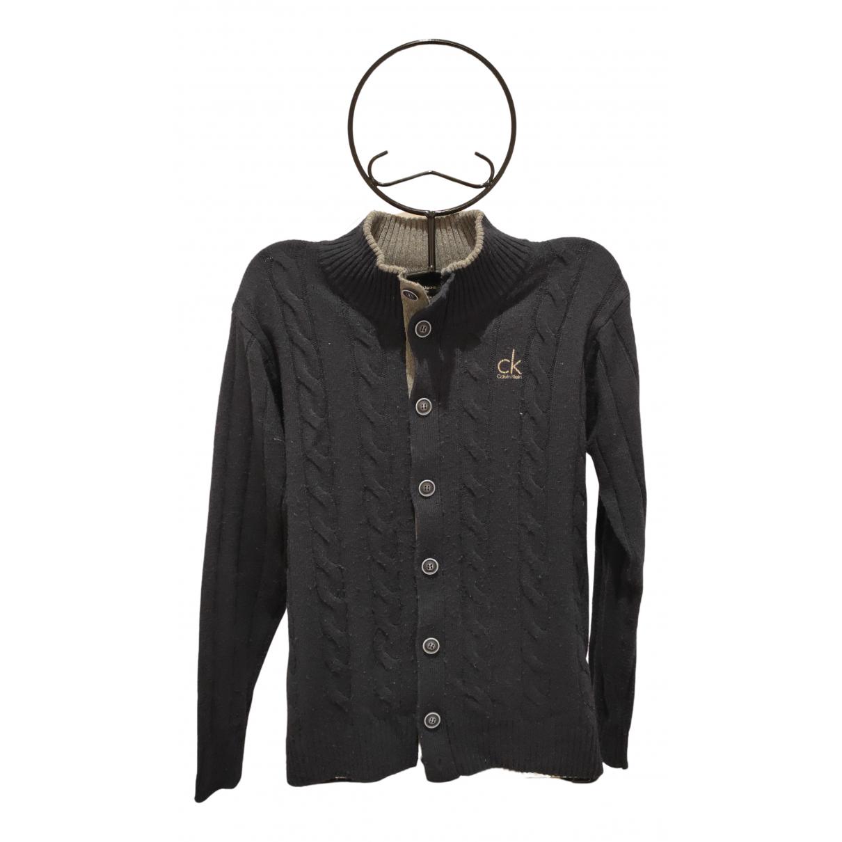 Calvin Klein - Pulls.Gilets.Sweats   pour homme en laine - marine