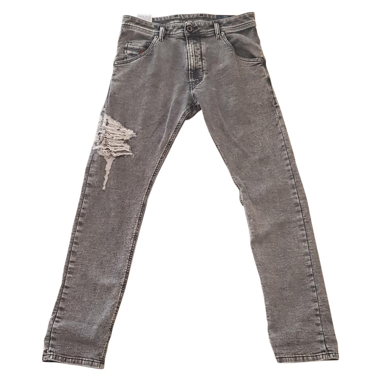Diesel \N Grey Jeans for Men 27 US