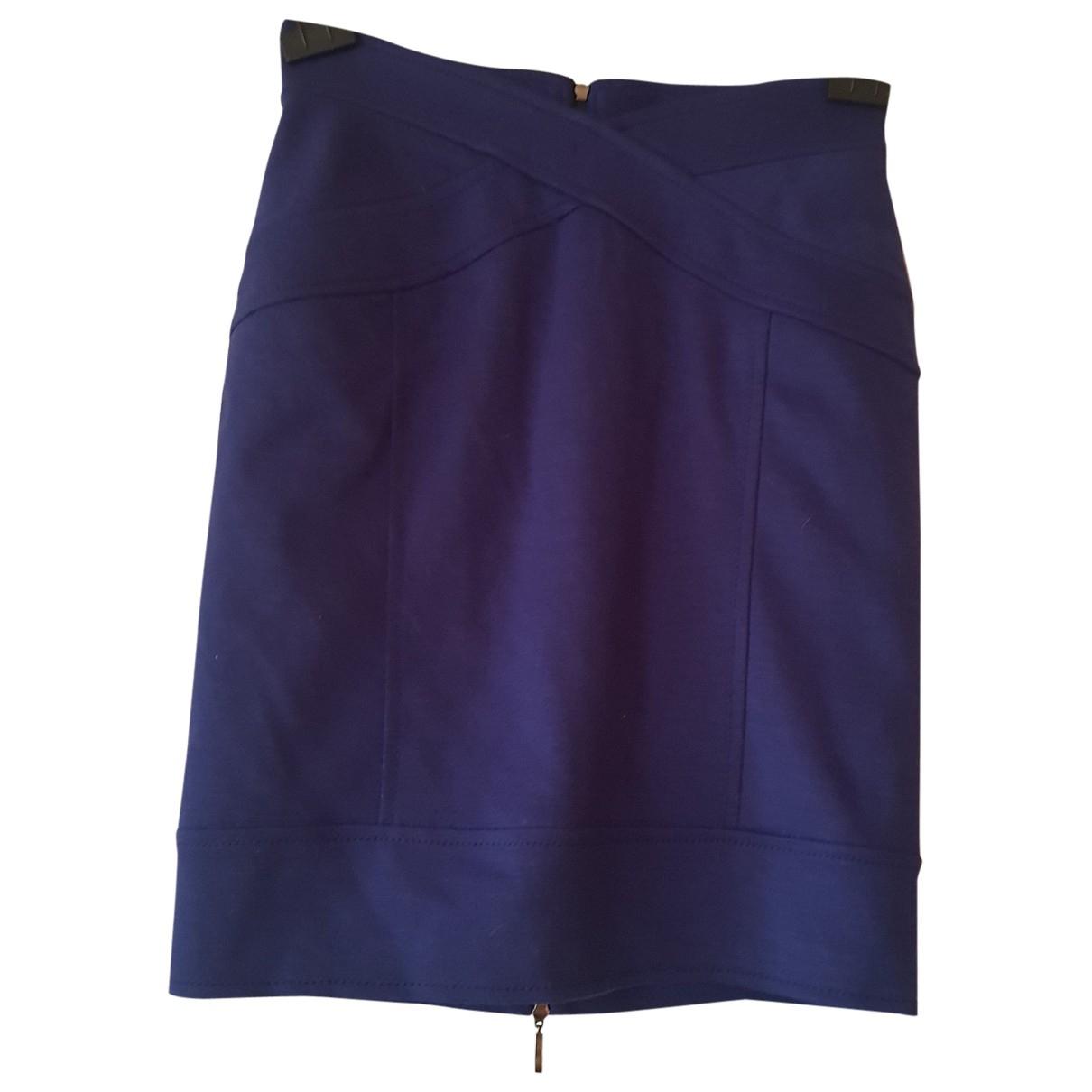 Mini falda de Lana Miriam Ocariz