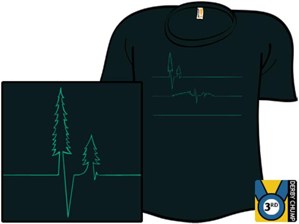 Earth's Heart Monitor T Shirt