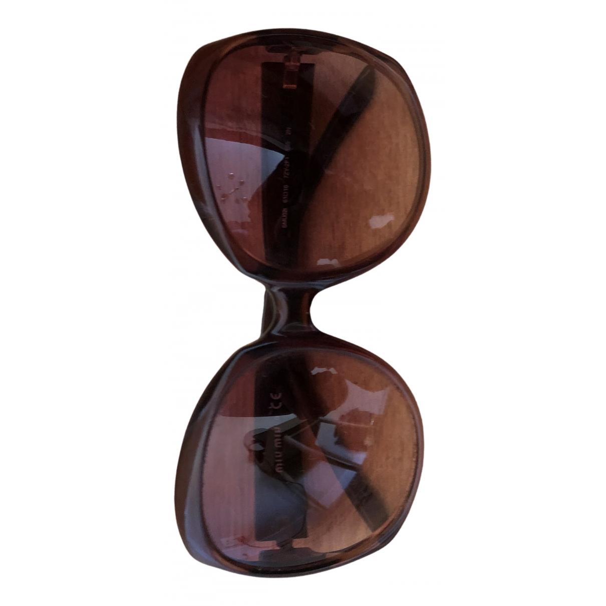 Miu Miu N Brown Sunglasses for Women N