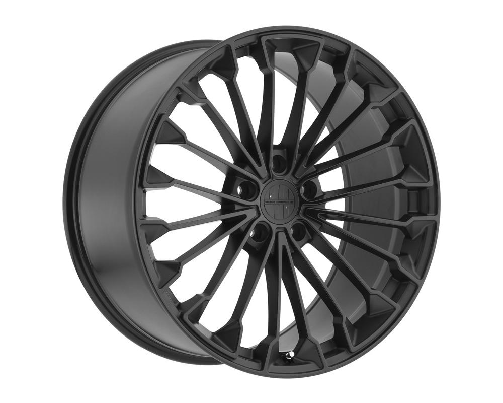 Victor Equipment 1811VIW555130M71 Wurttemburg Wheel 18x11 5x130 55mm Matte Black w/ Gloss Black Face