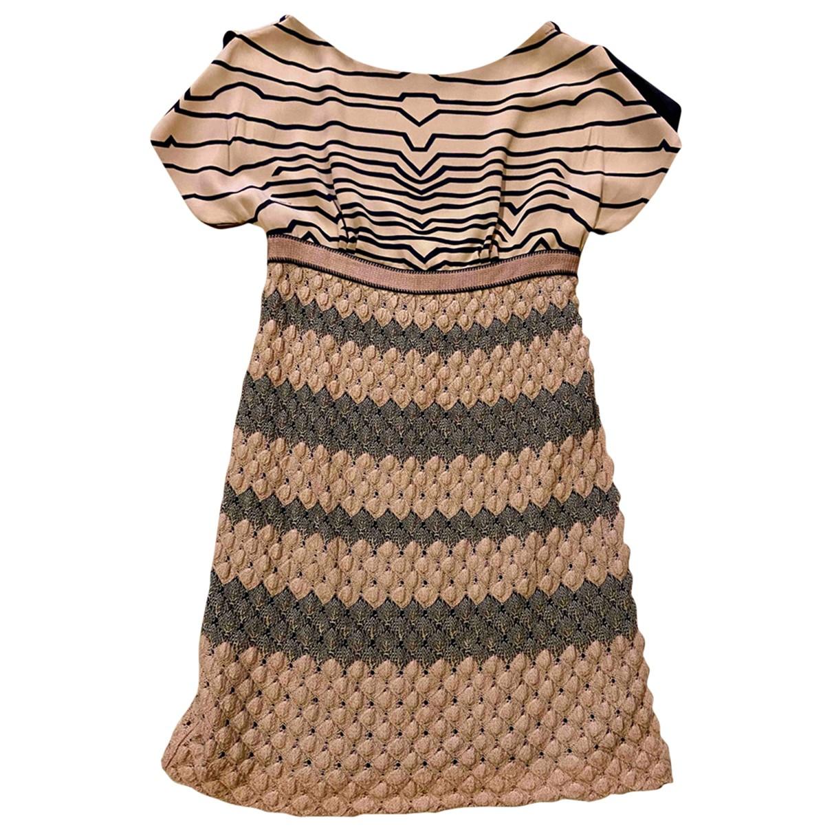 Missoni - Robe   pour femme en laine - ecru