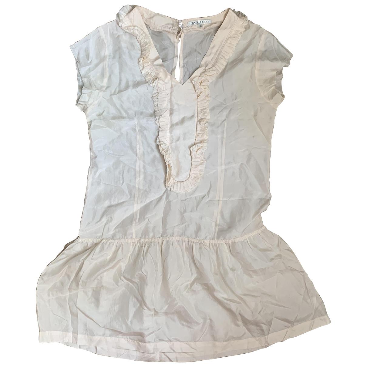 Mini vestido de Seda Rue Blanche