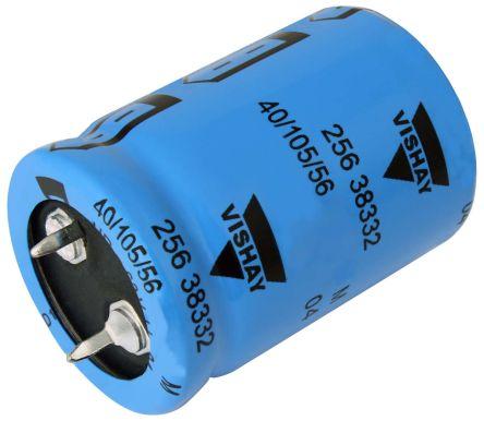 Vishay 15000μF Electrolytic Capacitor 25V dc, Through Hole - MAL225626153E3