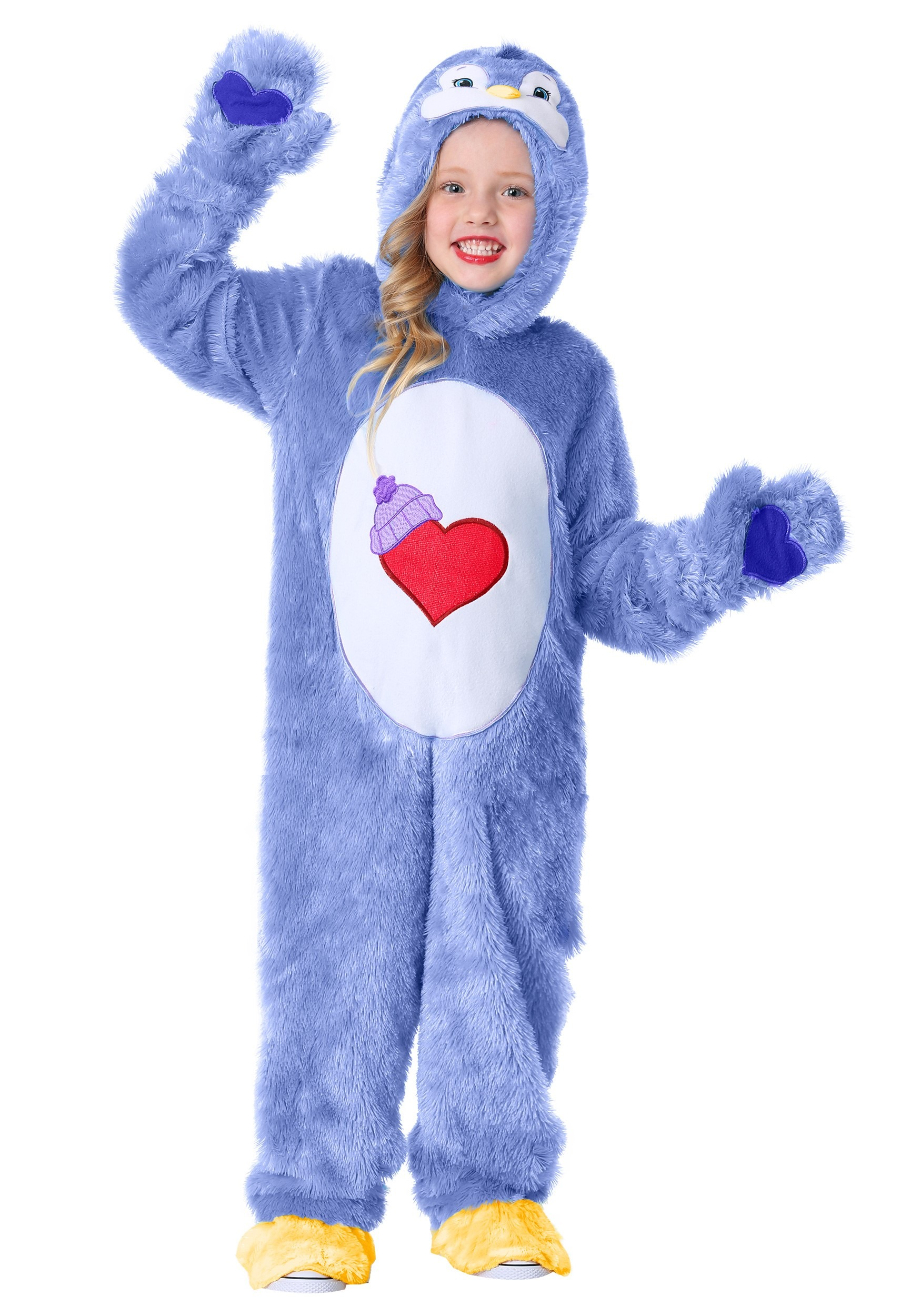 Care Bears & Cousins Cozy Heart Penguin Costume for Toddlers