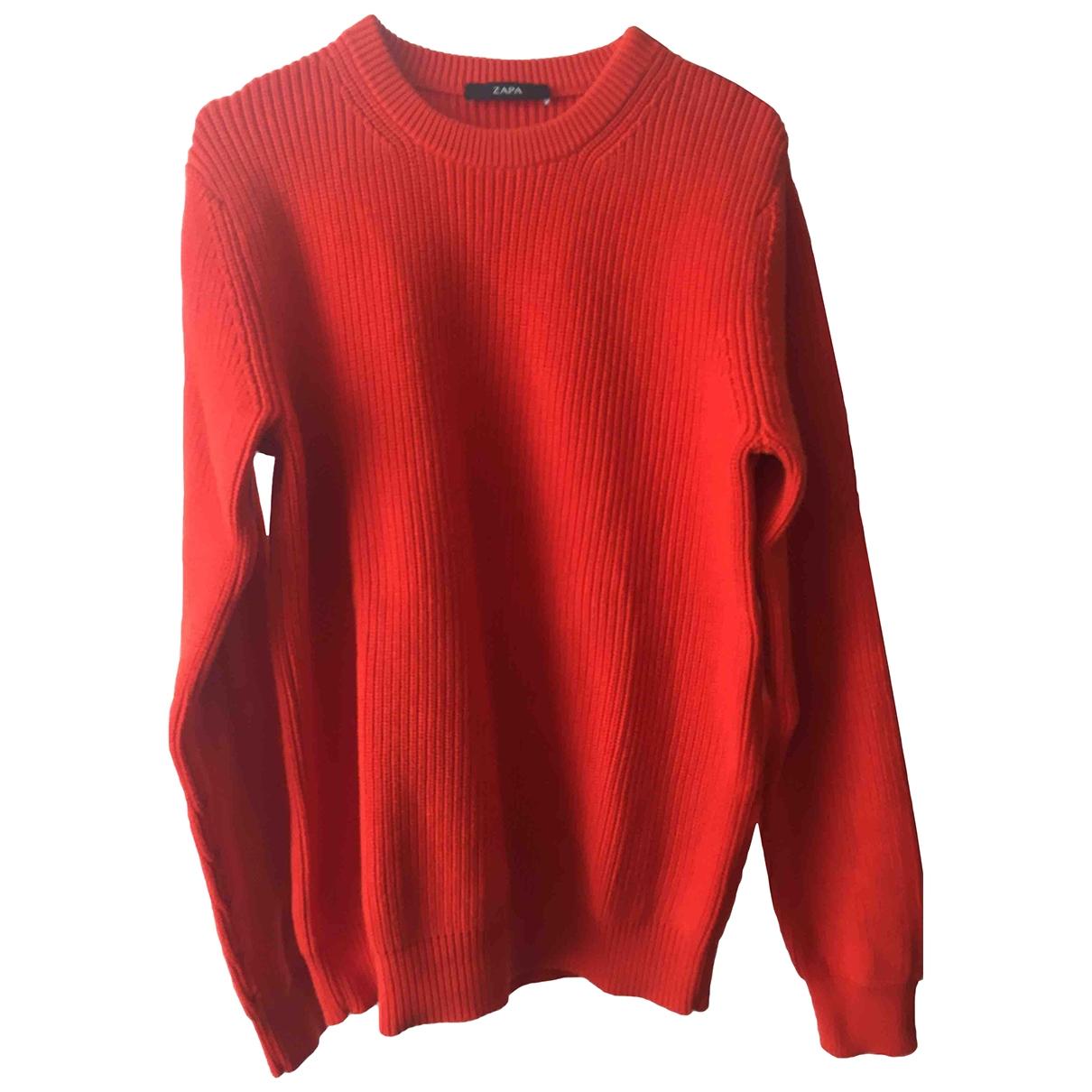Zapa - Pulls.Gilets.Sweats   pour homme en coton - orange