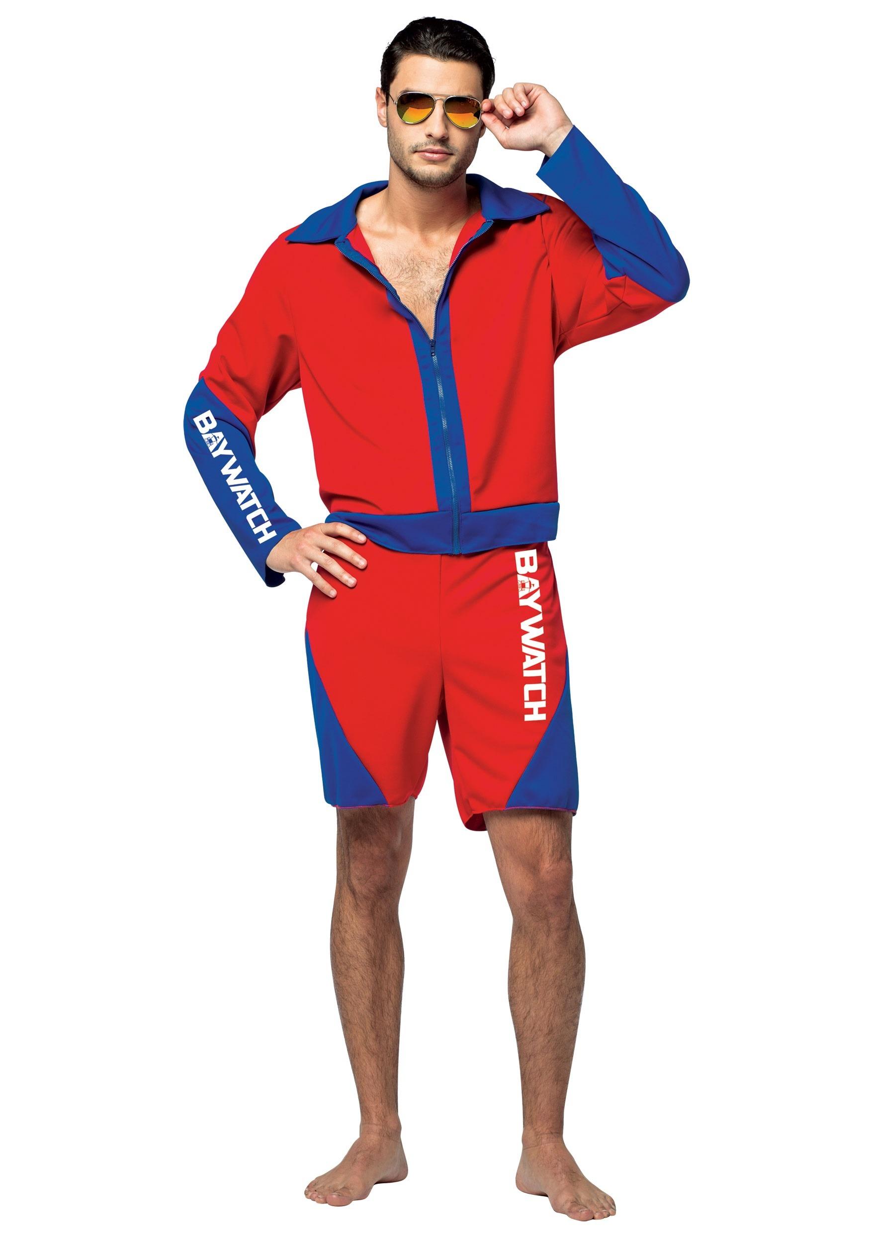 Adult Baywatch Mens Costume