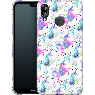 Huawei P20 Lite Smartphone Huelle - Unicorns Pastel von Cat Coquillette