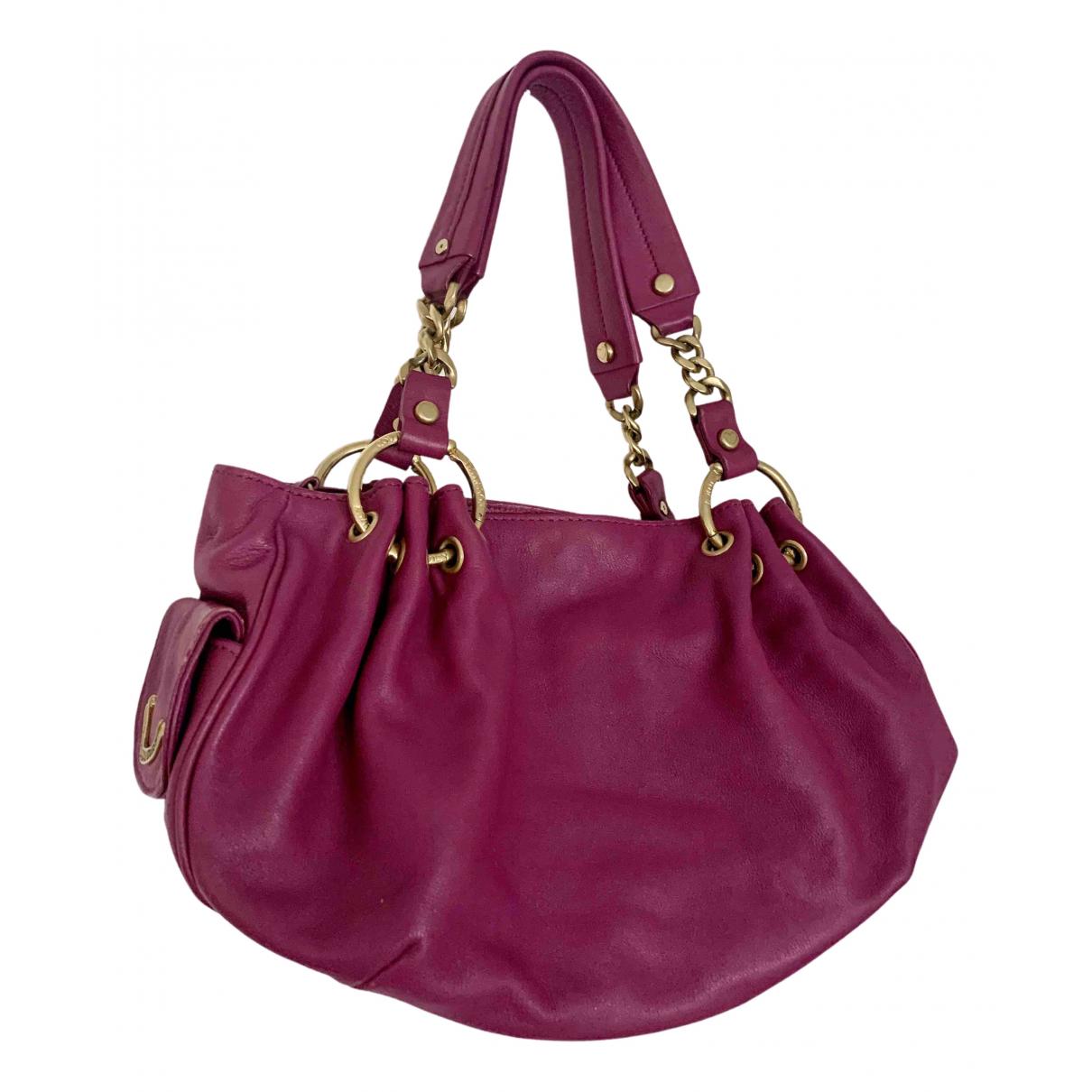 Juicy Couture - Sac a main   pour femme en cuir - rose