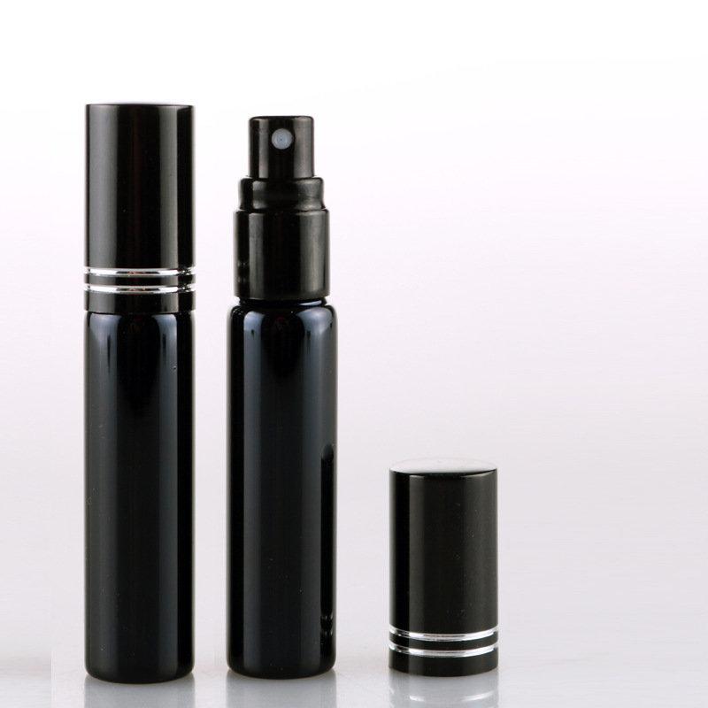 10ML UV Glass Spray Perfume Bottle Lotion Fragrance Refillable Bottle Travel Dispensing Bottle
