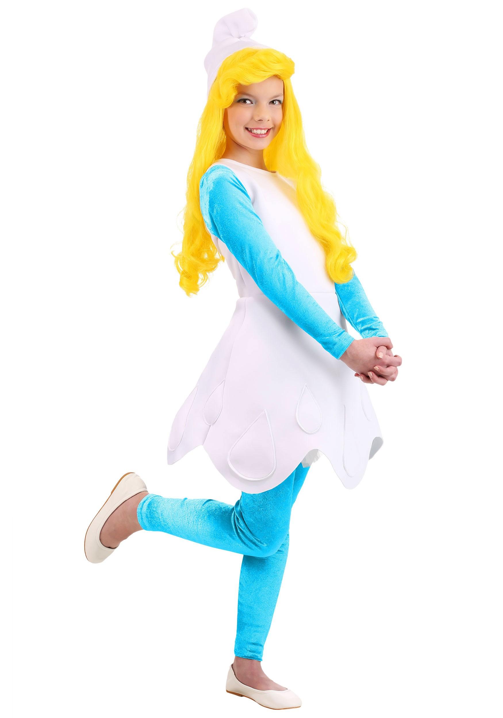 The Smurfs Smurfette Girls Costume