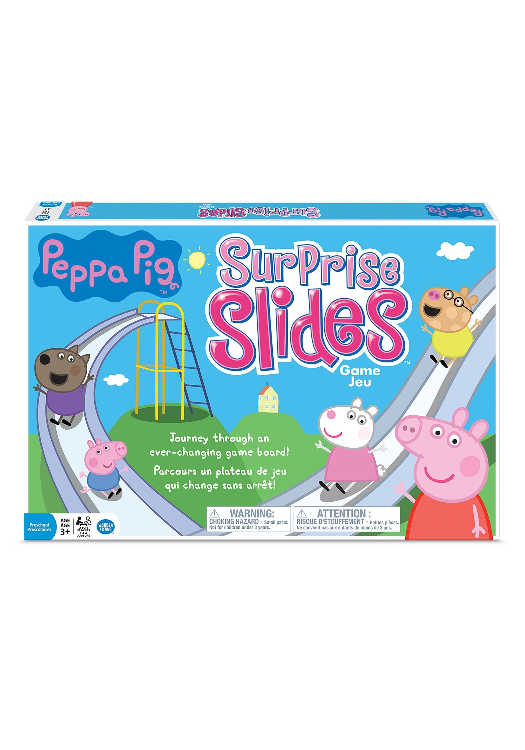 Peppa Pig Surprise Slides Board Game, Family Games