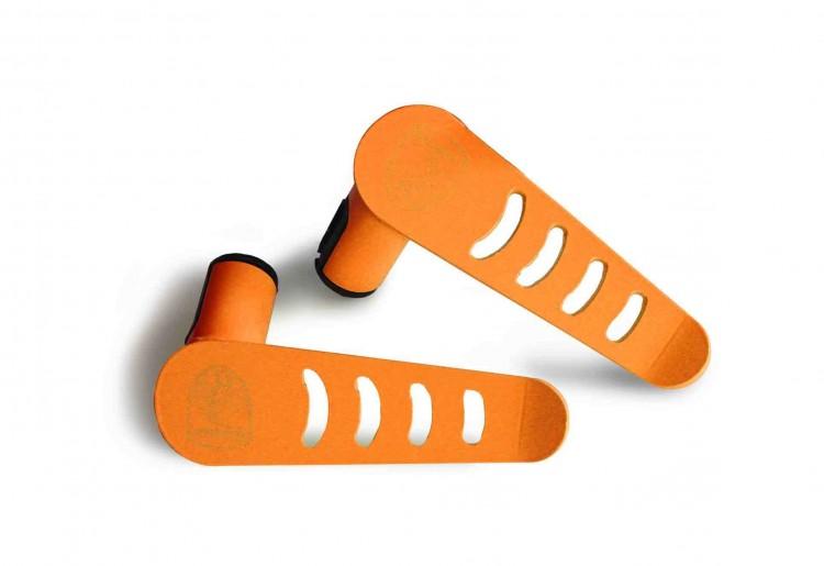 Steinjager J0048047 Foot Rest Kit Wrangler JL 2018 Metal Design Fluorescent Orange