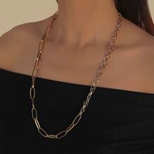 Collar con cadena minimalista