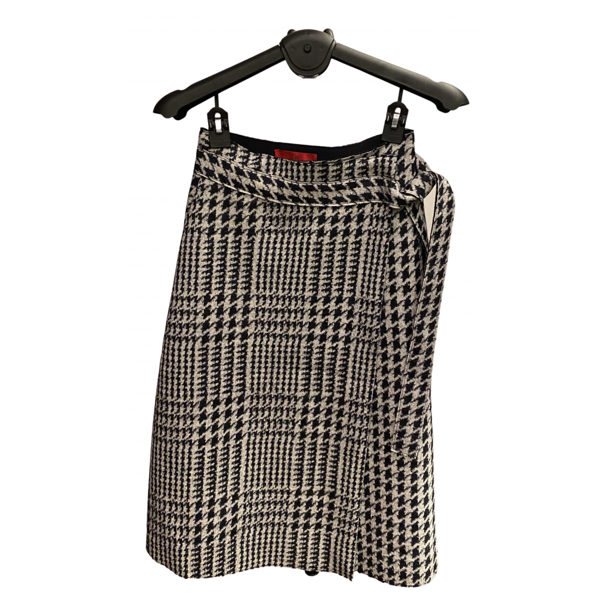 Carolina Herrera - Jupe   pour femme en laine - gris