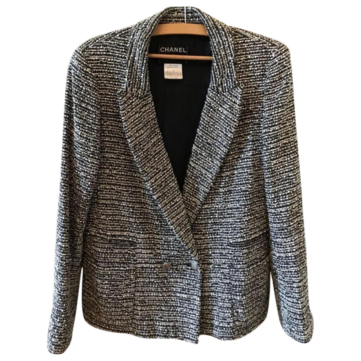 Chanel \N Jacke in  Bunt Wolle