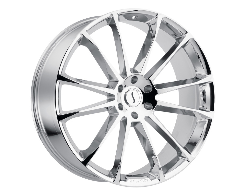 Status Goliath Wheel 22x9.5 6x135 30mm Chrome