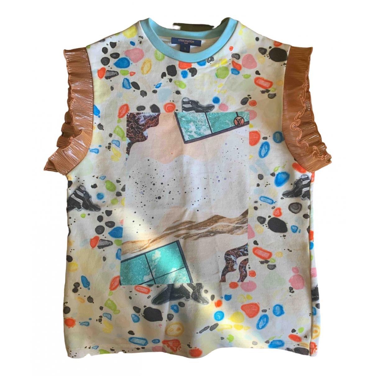 Louis Vuitton \N Multicolour Cotton  top for Women 38 FR