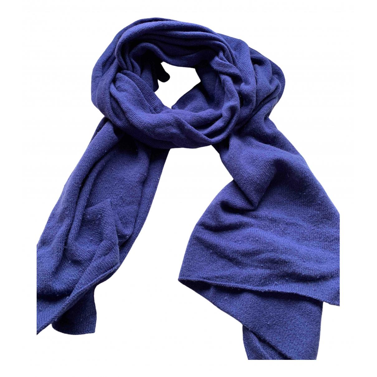 Max Mara Weekend \N Blue Wool scarf for Women \N