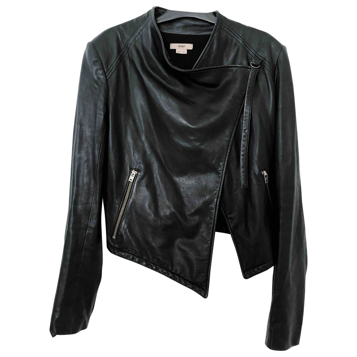 Helmut Lang \N Black Leather jacket for Women S International