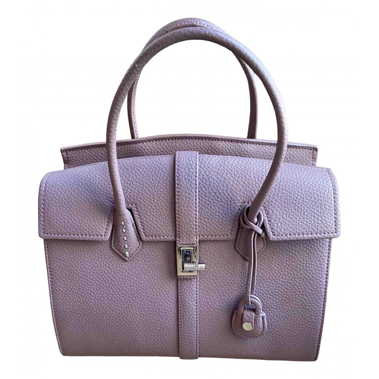 Trussardi Jeans \N Handtasche in Leder