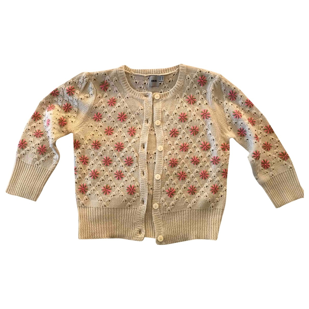 Asos \N Beige Wool Knitwear for Women 10 UK
