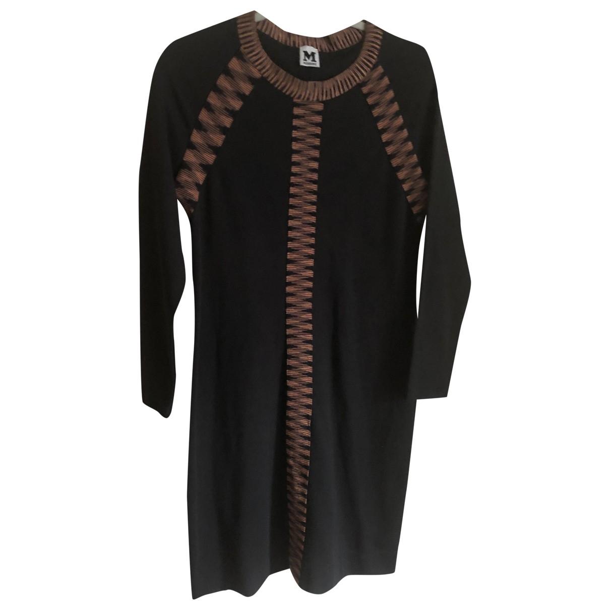 M Missoni - Robe   pour femme en coton - noir