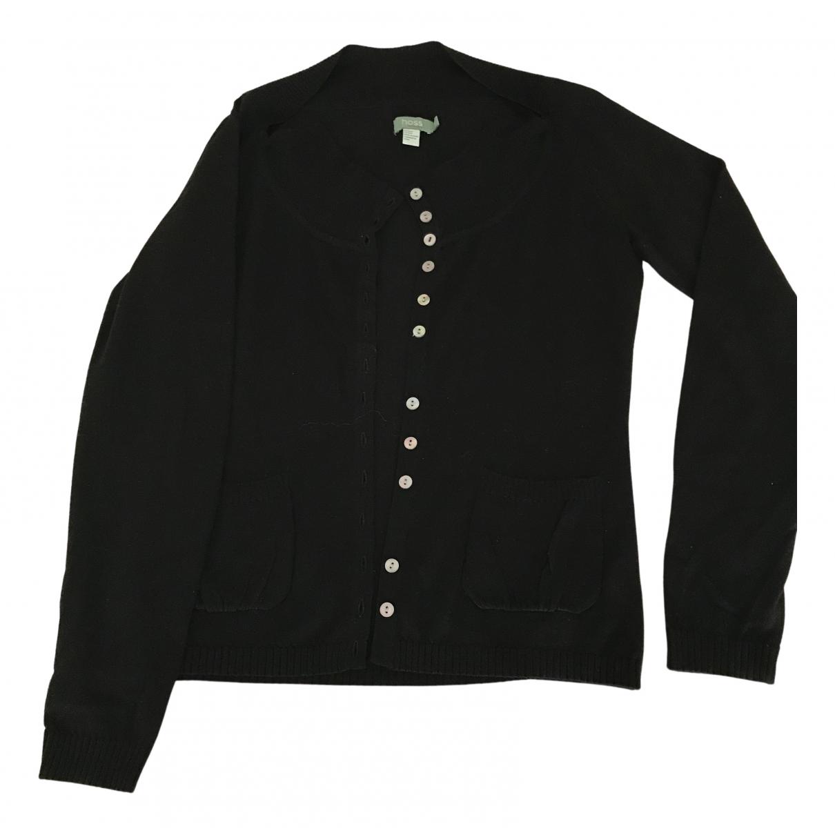 Hoss Intropia \N Black Wool Knitwear for Women L International