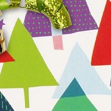 #x7019 Rainbow Christmas - Gift Wrap - 24 X 100' - - Gift Wrapping Paper by Paper Mart