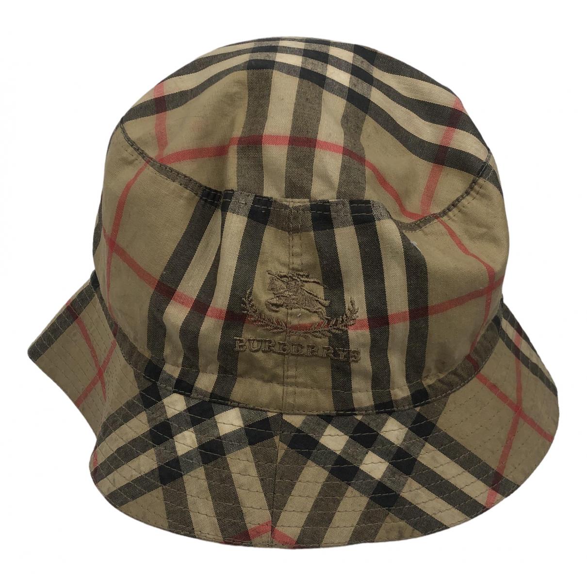 Burberry N Beige hat & pull on hat for Men S International