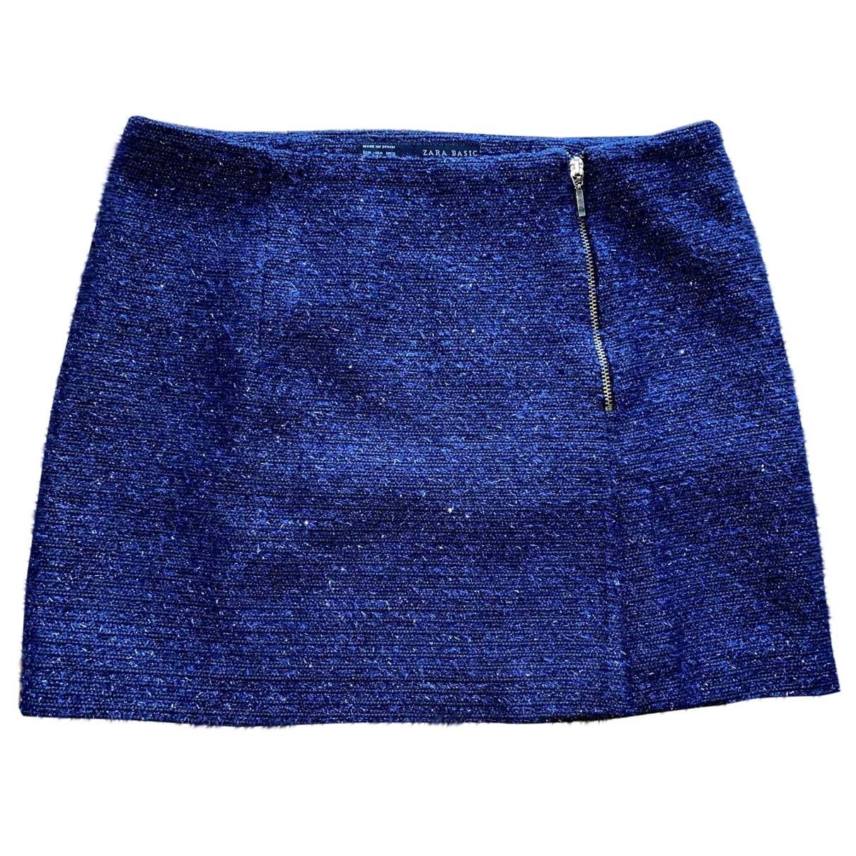Zara \N Rocke in  Blau Baumwolle