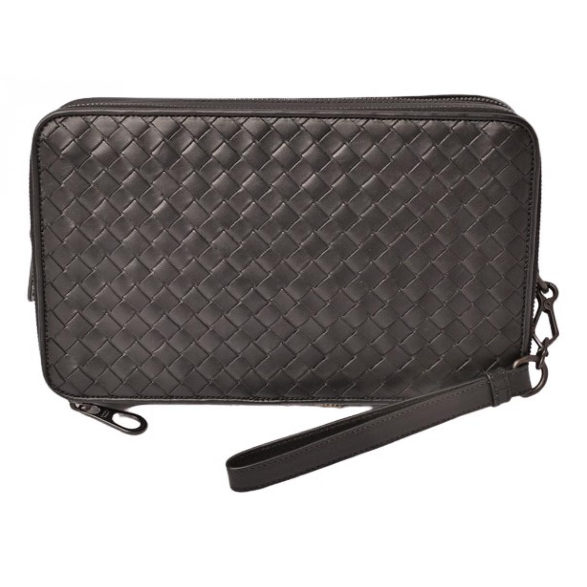 Bottega Veneta \N Black Leather Clutch bag for Women \N