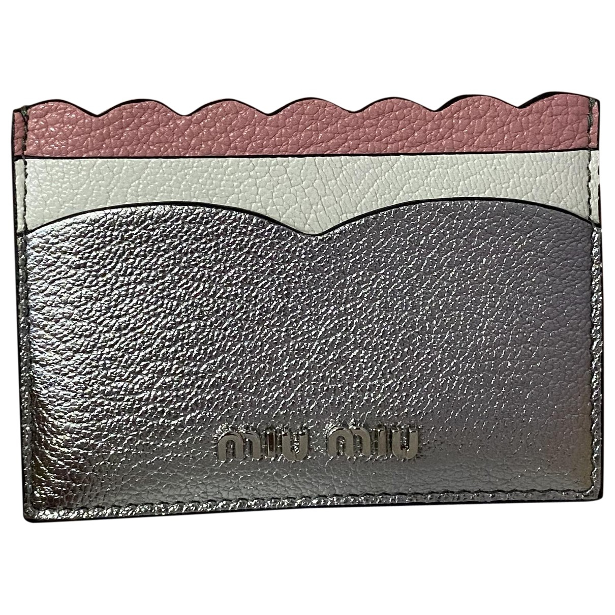 Miu Miu \N Silver Leather Purses, wallet & cases for Women \N