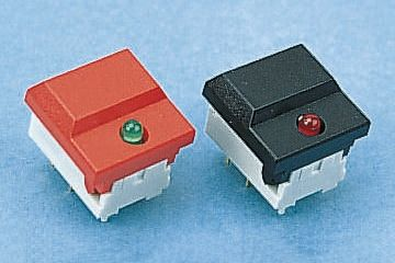 C & K Single Pole Double Throw (SPDT) Keyboard Switch, 10 mA@ 24 V dc, -25 → +85°C