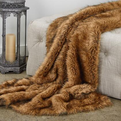 Fox Collection PBEZ1786-8090-TC 80L x 90W Twin XL Tip Dyed Faux Fur Luxury