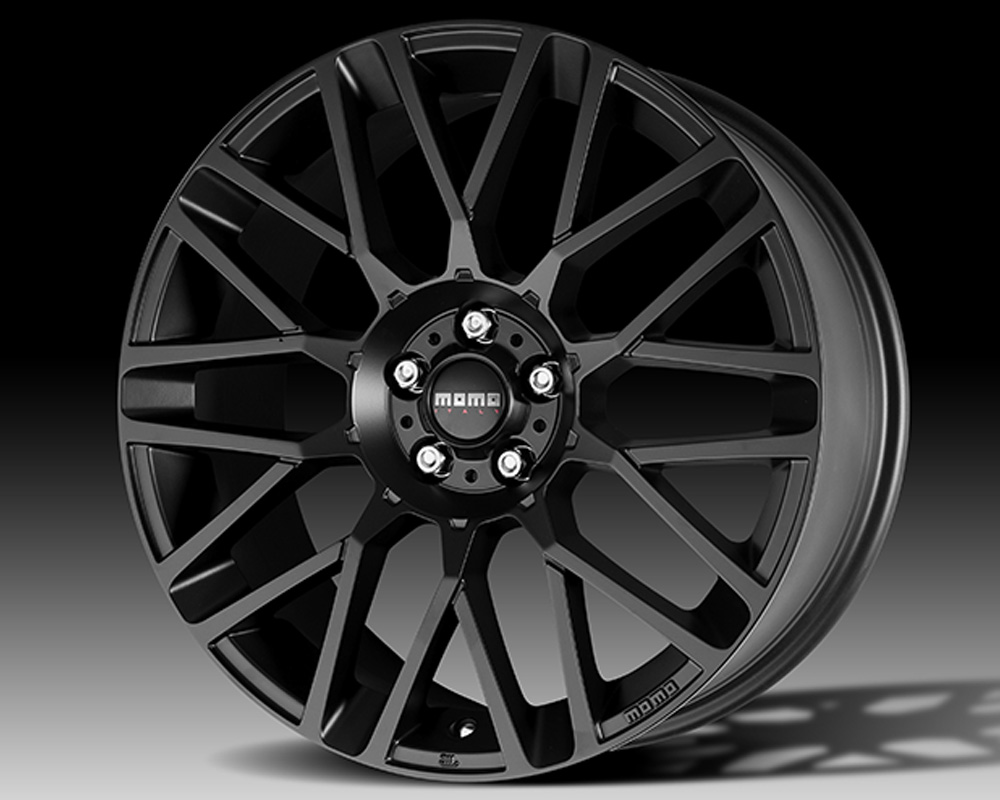 MOMO RV85251238B Revenge Matte Black Wheel 20x8.5 5x112 +38mm