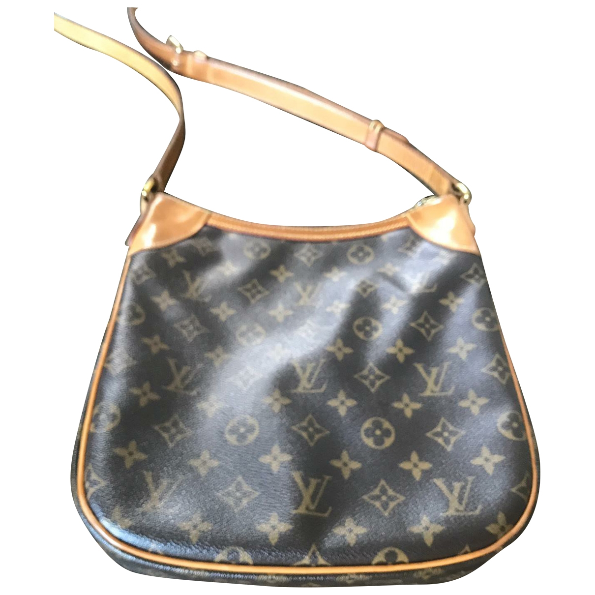 Louis Vuitton Odéon Brown Cloth handbag for Women \N